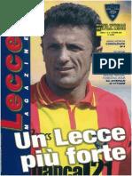 Lecce Magazine 2001 N. 8