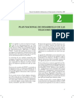 Plan Nacional de Desarrollo de las Telecomunicaciones