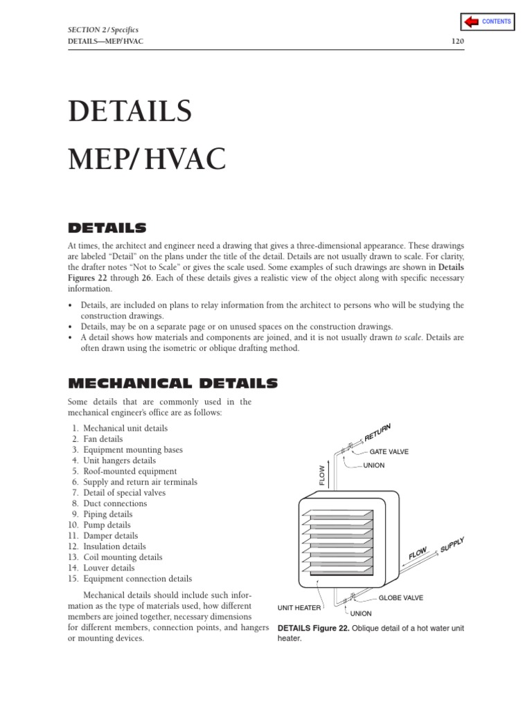 Hvac Isometric Drawing Wiring Library Ducting Pictures Chapter 6 Details Water Heating