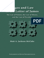 Matt A. Jackson-McCabe Logos and Law in the Letter of James The Law of Nature, the Law of Moses, and the Law of Freedom Supplements to Novum Testamentum 2000.pdf
