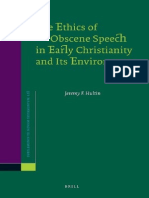 Jeremy F. Hultin The Ethics of Obscene Speech in Early Christianity and Its Environment 2008.pdf