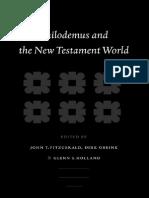 John T. Fitzgerald, Dirk Obbink, Glenn Stanfield Holland Eds Philodemus and the New Testament World Supplements to Novum Testamentum 2004.pdf