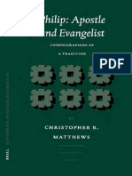 Christopher R. Matthews Philip Apostle and Evangelist Configurations of a Tradition Supplements to Novum Testamentum Supplements to Novum Testamentum 2002.pdf