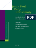 Rieuward Buitenwerf, Harm W. Hollander, Johannes Tromp Jesus, Paul, and Early Christianity - Supplements to Novum Testamentum 2008.pdf