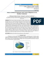 Study of Biodiesel Emissions and Carbon Mitigation in Gas Turbine Combustor