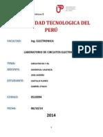 INFORME N°01 CIRCUITOS ELECTRIS2 UTP