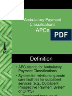 Ambulatory Payment Classifications (APCs).ppt