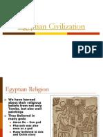 Egyptian Civilization PDF