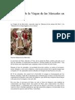 Festividad de La Virgen de Las Mercedes en Paita