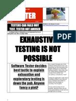 The Social Tester - Pub Testing