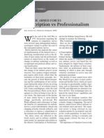 HDMB3_Conscription vs Professionalism