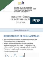 Saneamento II -Reservatórios