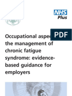 Occupational Management of CFS for Employers