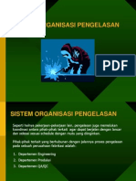 Sistem Organisasi Pengelasan