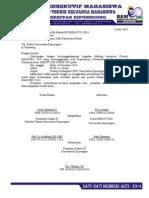 Surat Permohonan SK Rektor