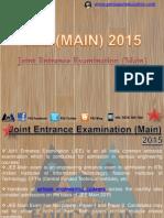 JEE (MAIN) 2015