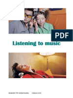 listening to music and glossary online