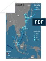 Map Strategic Passages Southeast Asia