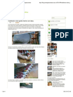 Calefactor solar gratis hecho con latas. ~ Ecoexperimentos