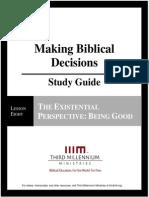 MakingBiblicalDecisions.lesson8.StudyGuide.english