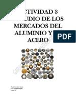 Actividad 3 Estudio de Los Mercados Del Aluminio y El Acero