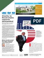 Asbury Park Press front page Thursday, Nov. 4 2014