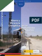 Ahorro y Eficiencia Energética en Comunidades de Regantes