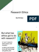 Qualitiative Research Ethics