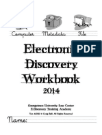 Ball E-Discovery Workbook Ver. 4.0512
