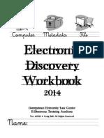 Ball E-Discovery Workbook Ver. 4.0512
