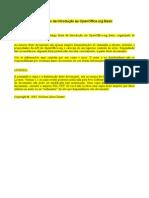 Exemplos de criação de macros broffice