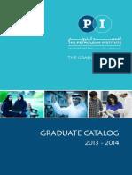 PI Graduate Catalog 2013-2014