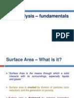 BET Analysis Fundamentals - Sathish