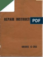 Ursus C-355 Repair-Instructions Sec Wat