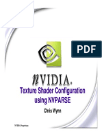 Nvparse for TextureShaders