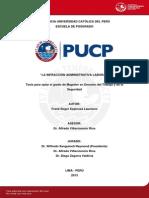 Espinoza Laureano Frank Infraccion Administrativa