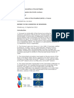 European Committee of Social Rights_France Fails to Guarantee the Right to Education of Children and Adolescents With Autism