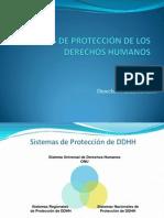 ESQUEMA Sistemas de Protección de DDHH