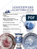 Transferware Collectors Club Bulletin One 2013