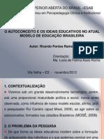 Ricardo Pontes Ramos - Apresentação de Monografia