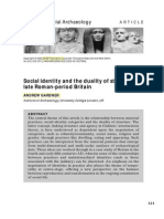 Social Identity & the Duality of Structure In