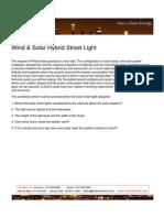 Wind and Solar Hybrid Street Lights Rev-01-Feb-11