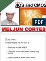 MELJUN CORTES Computer Organization Lecture Chapter5 BIOS CMOS