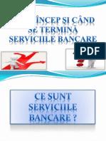 Serviciile bancare