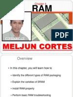 MELJUN CORTES Computer Organization Lecture Chapter4 RAM