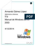 manual windows server2003
