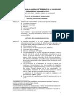 Artículos Del Estatuto - Comisión 2_1er Dictamen UNI