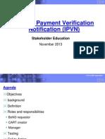 Invoice Payment Verification Notification (Ipvn)Educationv2