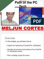 MELJUN CORTES Computer Organization Lecture Chapter1 Path of Computer Technician