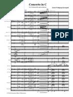 Finale 2006b - [Cello Concerto Orch Score]